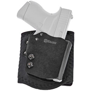 Galco Ankle Guard S&W M&P SHIELD Ankle Holster Right Hand Black