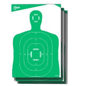 "Allen Company EZ Aim Non-Adhesive Silhouette Target 12""x18"" 10 Pack Green"