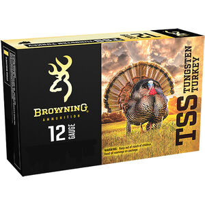 "Browning TSS 12 Gauge Ammunition 3"" #7 Tungsten Shot Non Toxic Lead Free 1-3/4oz 1200 fps"
