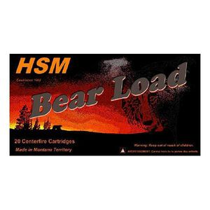 HSM Bear Load .500 S&W Mag 440 Grain WFN 20 Round Box