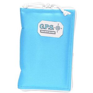 "G Outdoors G.P.S. Pistol Sleeve Medium Padded Nylon 5""x8"" Robins Egg Blue"