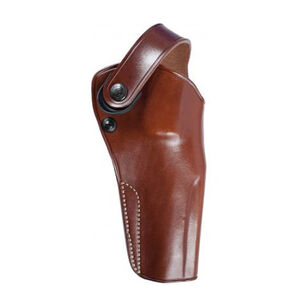 """Galco Gunleather DAO S&W X FR 460 5"""" Barrel Belt Holster Right Hand Leather Tan"""