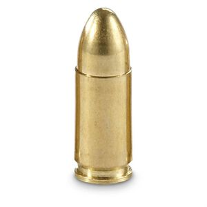 BVAC 9mm Luger Ammunition 50 Rounds Reloads FMJ 115 Grains R9115