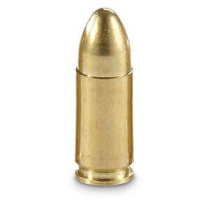 BVAC 9mm Luger Ammunition 50 Rounds Reloads FMJ 115 Grains R9115