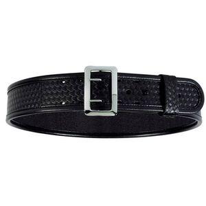 "Bianchi Sam Browne 2.25"" Belt Size 40-42"" B-Weave Black"
