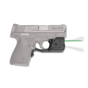 Crimson Trace LaserGuard Pro Light/Laser Combo S&W M&P Shield 45 150 Lumen LED White Light/5mW Green Laser Polymer Housing Matte Black