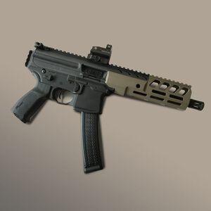 "Samson MPX-8 Sig Sauer MPX 8"" M-LOK Hanguard Aluminum FDE Cerakote"