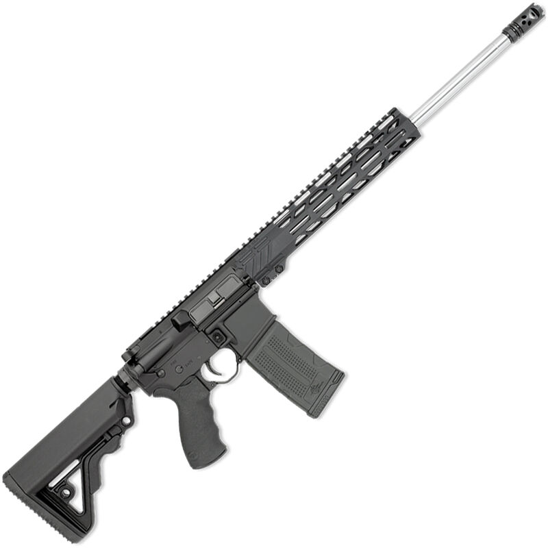 "Rock River LAR-15 ATH Carbine V2 5.56 NATO AR15 Semi Auto Rifle 18"" Barrel .223 Wylde Chamber 30 Rounds Free Float M-LOK Handguard Collapsible Stock Black"