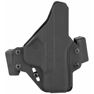 Raven Concealment Systems Perun OWB Holster For S&W M&P Shield Ambidextrous Draw Matte Black Finish