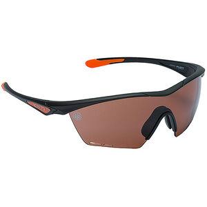 Beretta Clash Shooting Glasses Black Frame Brown Lenses