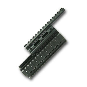 DMA, Inc. AK-47 Quad Rail, Black Aluminum