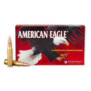Federal American Eagle .308 Winchester Ammunition 150 Grain FMJ 2820 fps