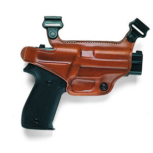 Galco S3H Shoulder Holster Component Right Hand Fits GLOCK 43 Leather Tan