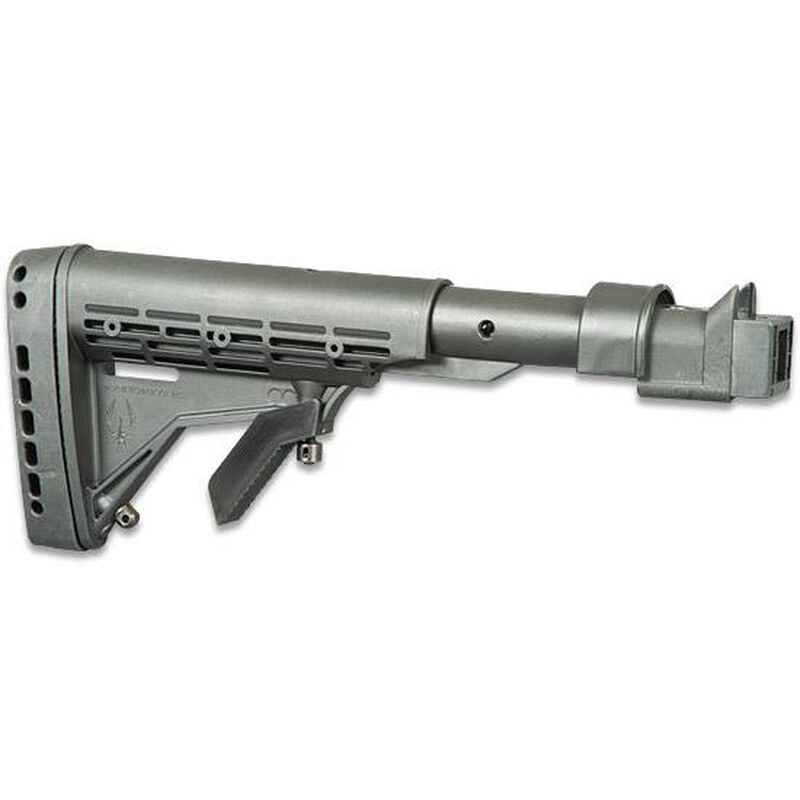 Phoenix Technologies KickLite Recoil Reduction Series Stock AK-47 Stamped  Receivers/Converted SAIGA's 6 Position Collapsible AR-15/M4 Style Stock