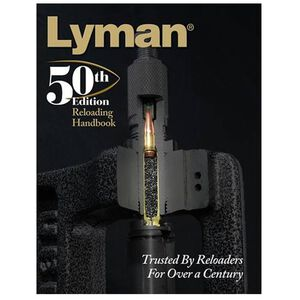 Lyman 50th Edition Reloading Handbook Softcover 528 Pages
