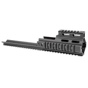 Midwest Industries FN SCAR 16, 17 Rail Extension Aluminum Matte Black MI-S1617