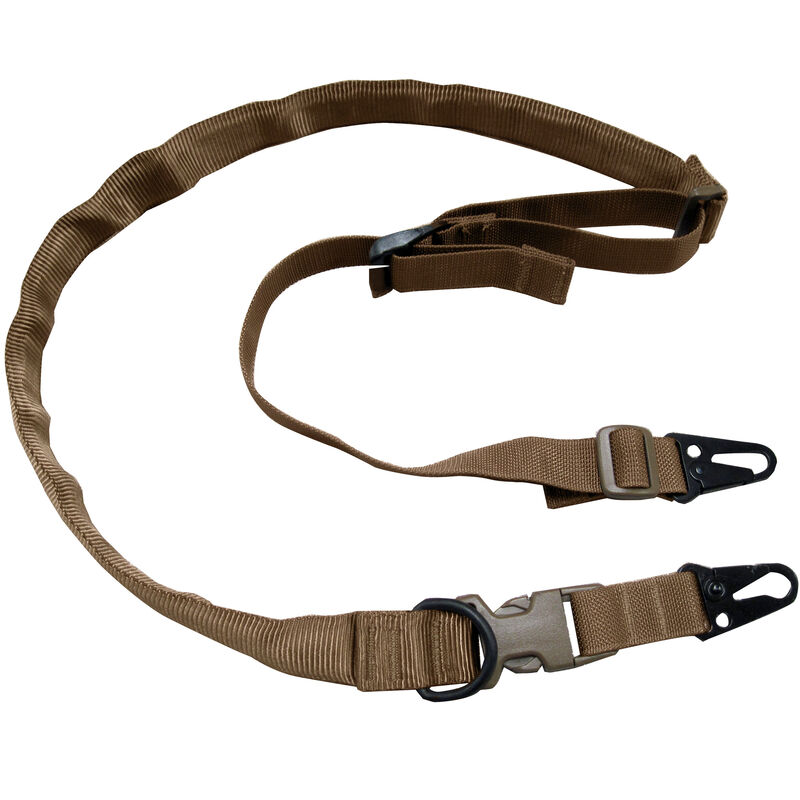 Tac Shield Warrior Sling 2-N-1 Non-Padded Coyote