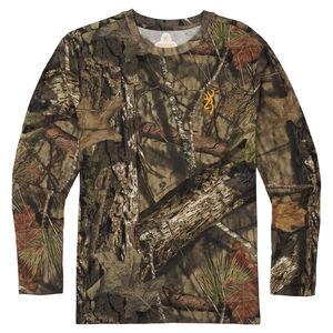 Browning Wasatch-CB Mens Long Sleeve T-Shirt Regular Fit Cotton MOBUC
