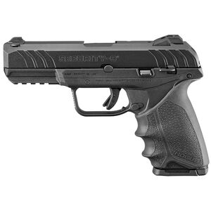 """Ruger Security-9 9mm Semi Auto Pistol 4"""" Barrel 10 Rounds Hogue HandAll Black Polymer"""