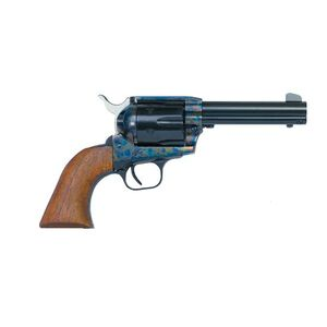 """EAA Bounty Hunter Single Action Army Revolver .357 Magnum 4.5"""" Barrel 6 Rounds Steel Frame Walnut Grips Fixed Sights Color Case Hardened Finish 770065"""