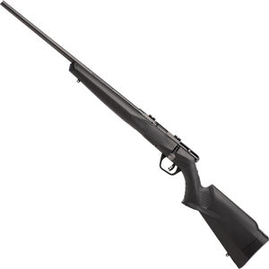 """Savage Model B22 Magnum F Left Hand Bolt Action Rimfire Rifle .22 WMR 21"""" Barrel 10 Rounds Synthetic Stock Black"""