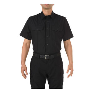 5.11 Tactical Men's Stryke Class-B S/S Shirt Large Reg Navy