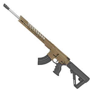"Diamondback Firearms DB15 AR-15 .224 Valkyrie Semi Auto Rifle 18"" Barrel 20 Rounds M-LOK Free Float Hand Guard Collapsible Stock Flat Dark Earth Finish"