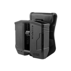 FAB Defense PG-9S Swivel Double Mag Pouch For Glock 9mm/.40 S&W Magazines Black