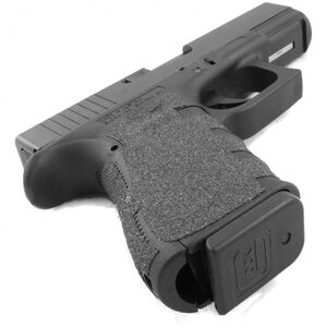 Talon Grips Grip Wrap For GLOCK Gen 4 19/23/25/32/38 Medium Back Strap Granulated Texture Black110G