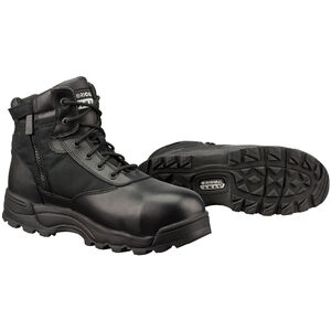 "Original S.W.A.T. Classic 6"" WP SZ Safety Men's Boot Size 9 Regular Composite Safety Toe ASTM Tested Non-Marking Sole Leather/Nylon Black 116101-9"