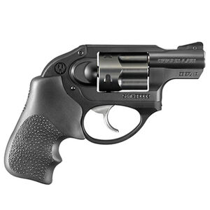 "Ruger LCR .38 Special +P Revolver 1.87"" Barrel 5 Rounds Hogue Grip Aluminum Frame Black"