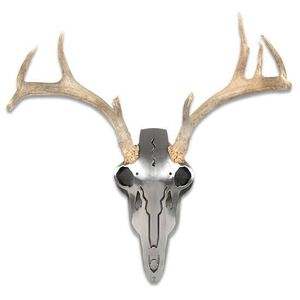 Do-All Outdoors Iron Buck Antler Mount Brushed Steel IBAM2