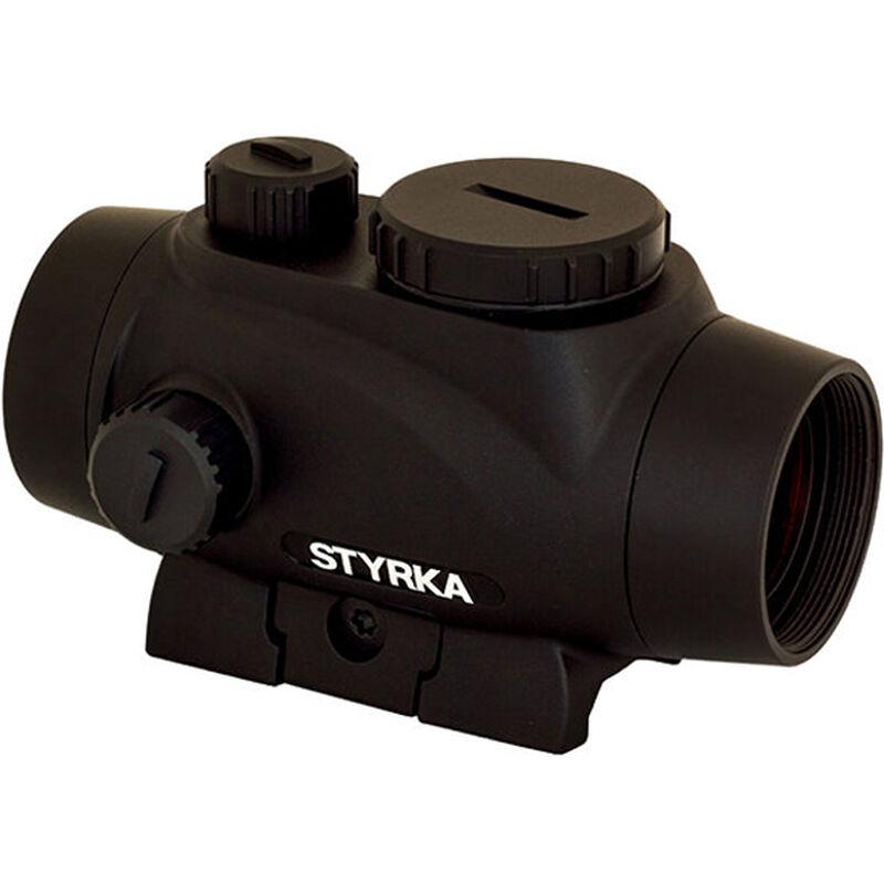 STYRKA S3 Green Dot 1x21mm Illuminated 5 MOA Dot Picatinny/Weaver Mount Matte Black Finish