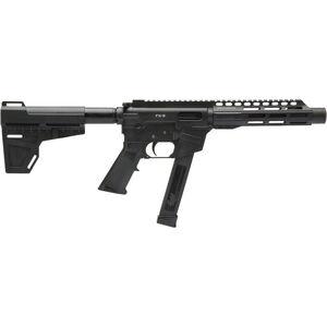 "Freedom Ordnance FX-9 Pistol 9mm Luger AR Style Semi Auto Pistol 8.25"" Barrel 31 Rounds Uses GLOCK Style Mags 7.375"" Freefloat M-LOK Handguard KAK Pistol Brace Black"
