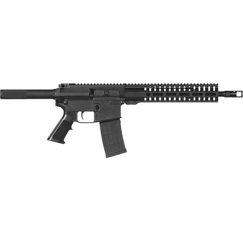"CMMG Banshee 100 MkW-15 .458 SOCOM AR-15 Semi Auto Pistol 12.5"" Barrel 10 Rounds Adjustable Gas Block RML11 M-LOK Handguard Black"