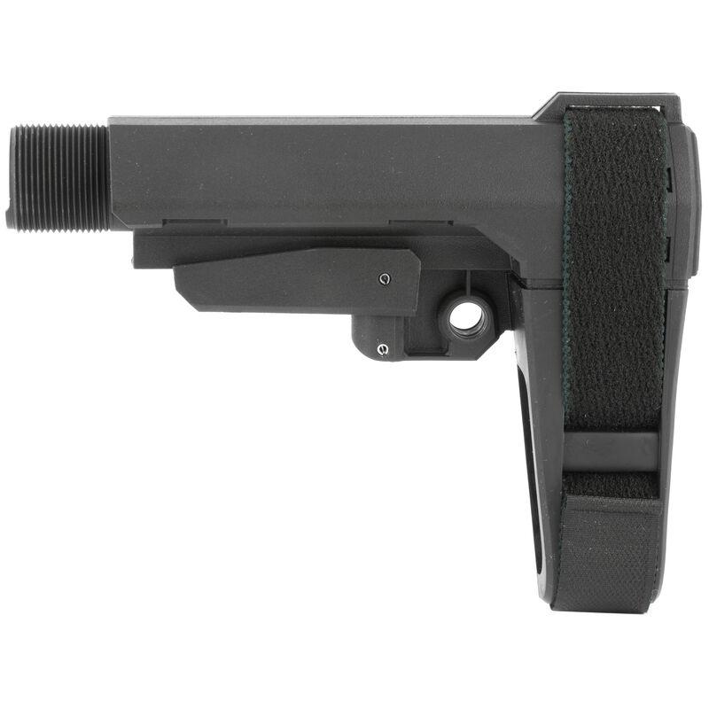 SB Tactical SBA3 Adjustable Brace Black  With Buffer Tube