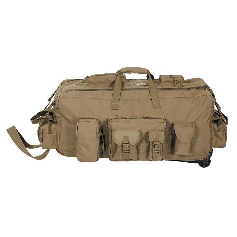 Voodoo Tactical Mojo Bag on Wheels Nylon Coyote