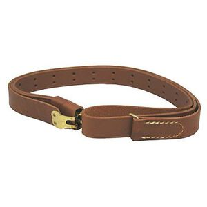 """Hunter Military Sling for 1"""" Swivels Leather Brown 200-100"""