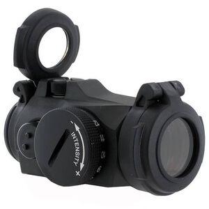 Aimpoint Micro H-2 Red Dot Sight 2 MOA Dot No Mount CR2032 Battery Aluminum Housing Matte Black Finish