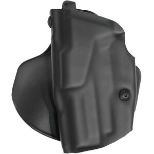 """Safariland 6378 ALS Paddle Holster Left Hand S&W M&P 9mm/.40S&W with Tactical Light and 4.25"""" Barrel STX Plain Finish Black 6378-2192-412"""