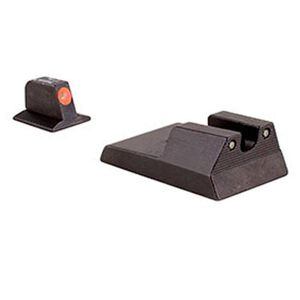 Trijicon HD Night Sight Set for Ruger SR9, 9c, 40, 40c Orange Outlined Front Sight Black Rear Sight RA114O