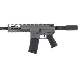 "Diamondback DB-15 AR Semi Auto Pistol 5.56 NATO 7.5"" Barrel Diamondback Aluminum Modified 4 Rail Hand Guard A2 Pistol Grip Pistol Buffer Tube Tactical Gray"