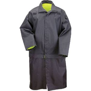 5.11 Tactical Long Reversible High Visibility Rain Coat Nylon 2 Extra Large Black 48125