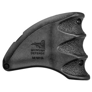 FAB Defense AR-15 Mag Well Grip and Funnel Polymer Black