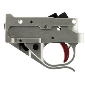 Timney Trigger for Ruger 10/22 Trigger Pull Set 2-3/4 Pounds Silver Housing/Red Trigger Shoe