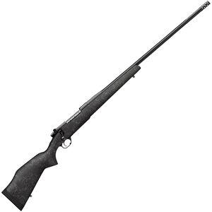 "Weatherby Mark V Accumark Bolt Action Rifle .338 Lapua Mag 28"" Barrel 2 Rounds with Accubrake Synthetic Stock Blued Finish"