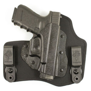 DeSantis Invader Tuckable IWB Holster S&W M&P Shield 45 Right Hand Nylon/Kydex Black M65KA5EZ0