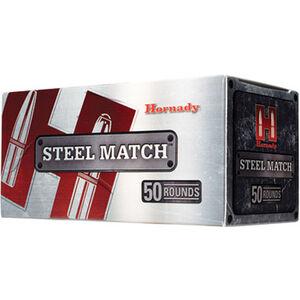 Hornady Steel Match 9mm Luger Ammunition 50 Rounds 125 Grain HAP Bullet 1110fps