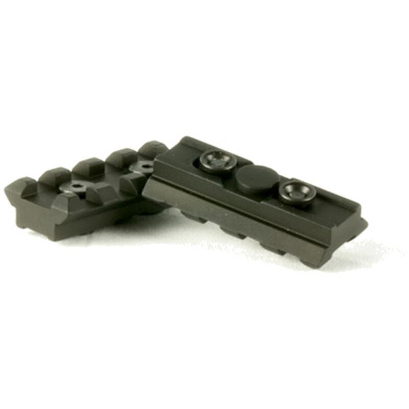 """Samson Manufacturing Evolution KeyMod Rail Kit 2"""" Picatinny Rail 6061-T6 Aluminum Anodized Black KM-2-KIT"""