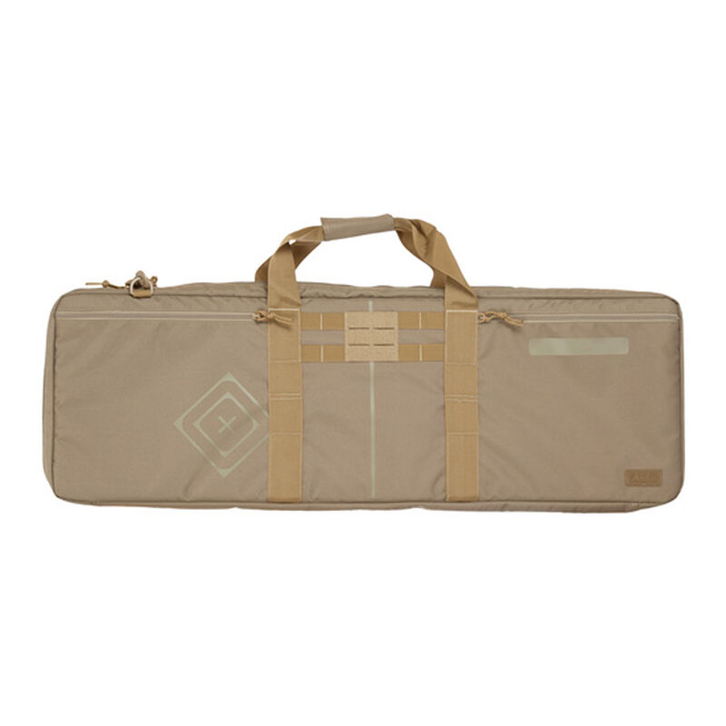 """5.11 Tactical Shock Rifle Case 36"""" Padded Interior Sandstone"""